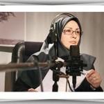 گفتگوی صمیمانه با فاطمه آل عباس گوینده رادیو