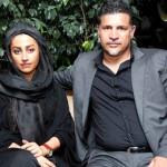 علی دایی و همسر و دخترش