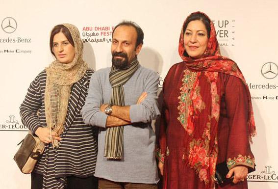 همسر اصغر فرهادی, اصغر فرهادی, اصغر فرهادی و زنش, اصغر فرهادی و همسرش, سارینا فرهادی, Asghar Farhadi, Parisa Bakhtavar, sarina farhadi