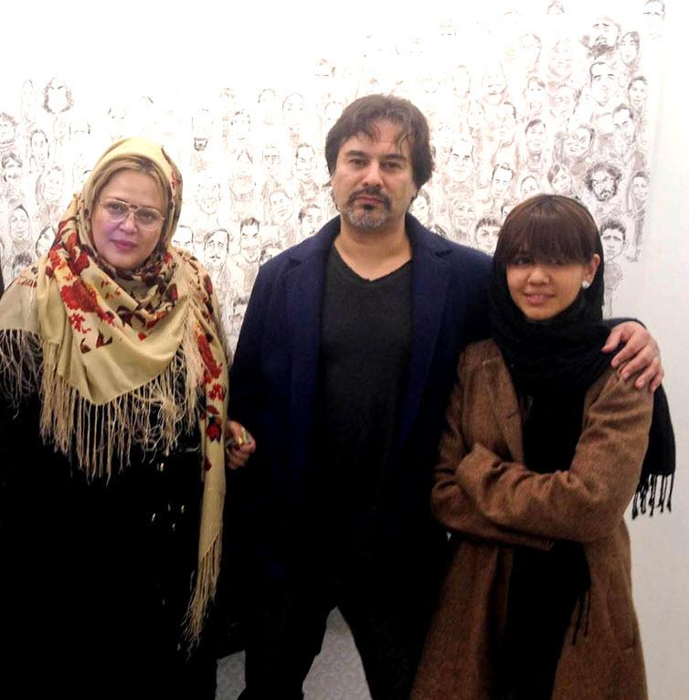 بهاره رهنما و دخترش, پیمان قاسم خانی و دخترش, فرزند بهاره رهنما, عکسهای فیسبوکی بهاره رهنما