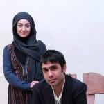 حسین مهری و همسرش ویدا جوان