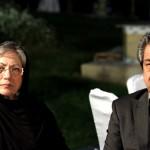 جهانگیر کوثری و همسرش رخشان بنی اعتماد