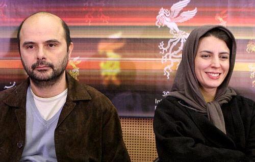 لیلا حاتمی و همسرش علی مصفا