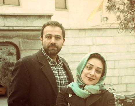 آرش مجیدی و همسرش میلیشا مهدی نژاد