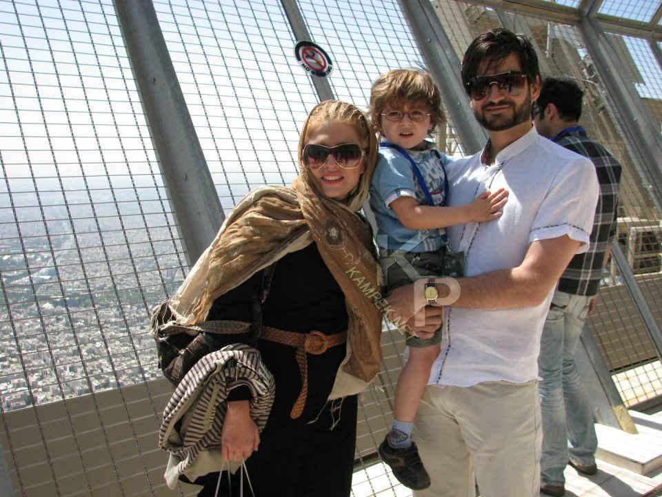 عکس پویا امینی و زنش, عکس همسر پویا امینی, پویا امینی بیوگرافی, پویا امینی و پسرش, فرزندان پویا امینی