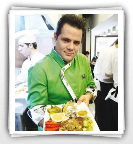 گفت و گو با رضا طاهری سرآشپز برنامههای تلویزیون