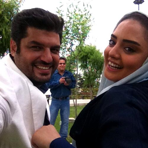 نرگس محمدی و همسرش سام درخشانی