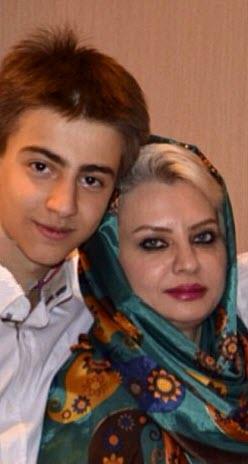 همسر و پسر دانیال حکیمی