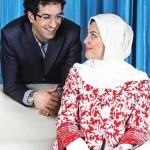لاله اسکندری و همسرش ساسان فیروزی