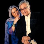 مسعود رایگان و همسرش رویا تیموریان