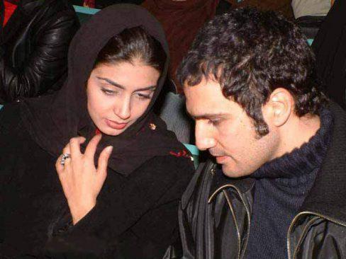 محمد رضا فروتن و همسرش