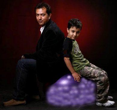 محمد رضا هدایتی و پسرش