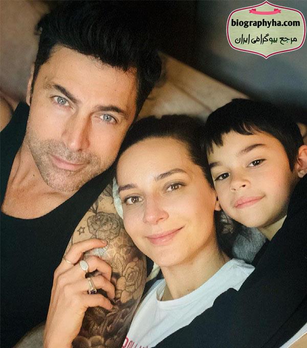 همسر صدف اوجی - بیوگرافی صدف آوجی و همسرش کیوانچ کاسابالی با پسرش