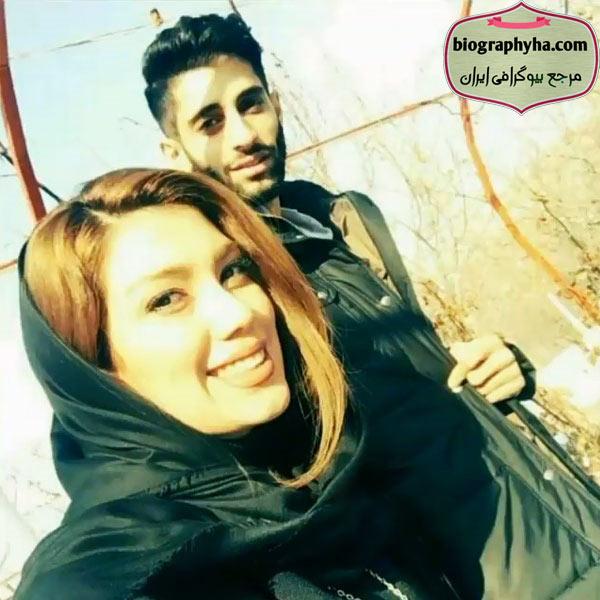 همسر میلاد عبادی پور - بیوگرافی میلاد عبادی پور و همسرش رویا محبوب با عکس