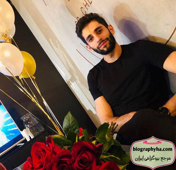 ورزشکار میلاد عبادی پور - بیوگرافی میلاد عبادی پور و همسرش رویا محبوب با عکس